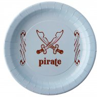 6 Assiettes Pirate Ciel