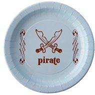 6 Assiettes Pirate Ciel