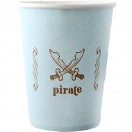 6 Gobelets Pirate Ciel