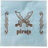 20 Serviettes Pirate Ciel