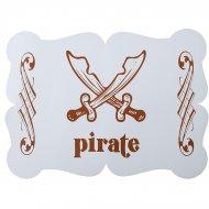 6 Sets de table Pirate Ciel