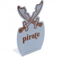 6 Marque-places Pirate Ciel