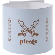 6 Ronds de serviettes Pirate Ciel