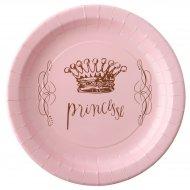 6 Assiettes Princesse Rose
