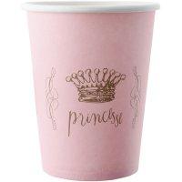 Contient : 1 x 6 Gobelets Princesse Rose
