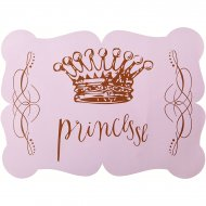 6 Sets de table Princesse Rose