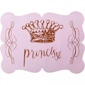 6 Sets de table Princesse Rose