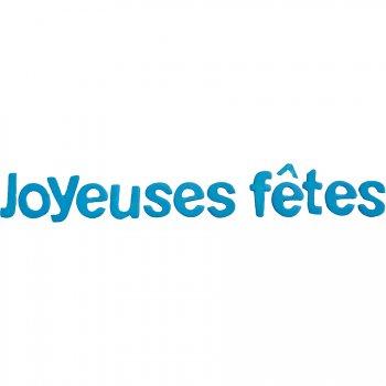 "Lettres ""Joyeuses Fêtes"" Turquoise"