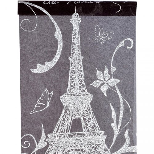Chemin de table Paris Noir