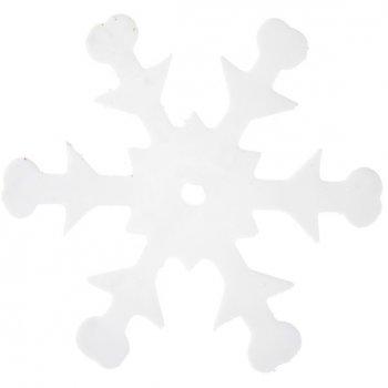 Confettis Flocons Blancs