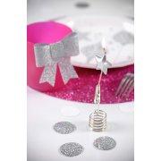 4 Mini Bougies Pics Etoiles