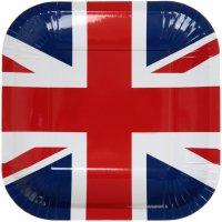 Contient : 1 x 10 Assiettes London Fever