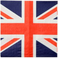 Contient : 1 x 20 Serviettes London Fever