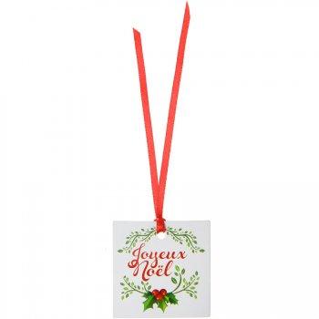12 Etiquettes Marque-Places Joyeux Noël (5 cm)