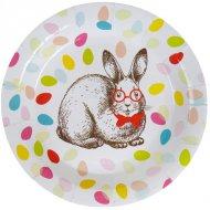 10 Assiettes Lapin Confetti
