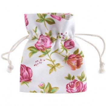 4 Petits Sachets Liberty Rose (10 cm) - Tissu