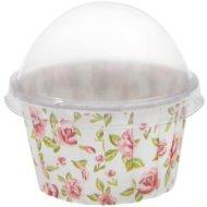 6 Caissettes à Cupcake Liberty Rose