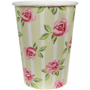 10 Gobelets Liberty Rose