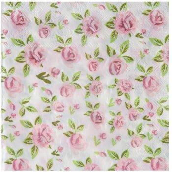 20 Serviettes Liberty Rose