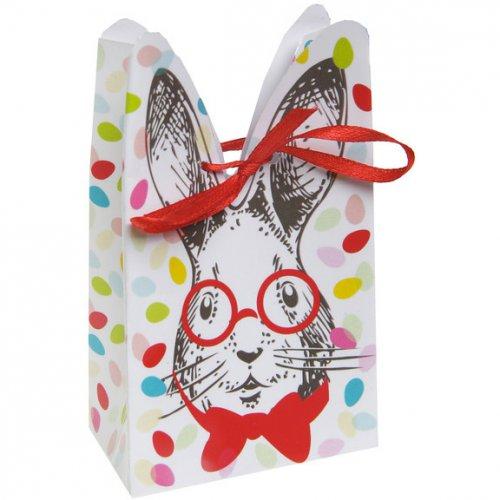 4 Boîtes Cadeaux Lapin Confetti