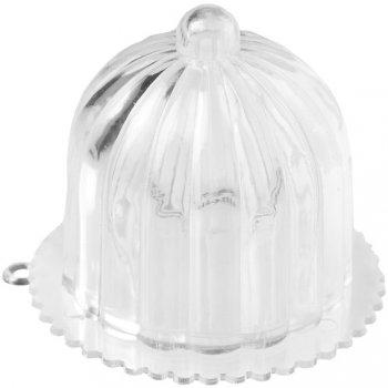 2 Minis Cloches Gâteaux (6 cm) - Plastique