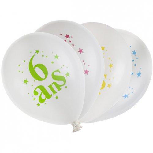 8 Ballons 6 ans Multicolore