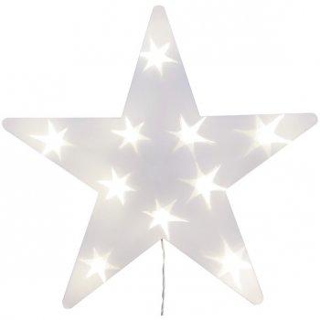 Etoile Lumineuse à piles (35 cm)