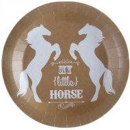 10 Assiettes Equitation