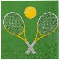 Contient : 1 x 20 Serviettes Tennis
