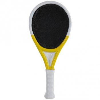 6 Marque-Places Raquette de Tennis (7 cm) - Résine