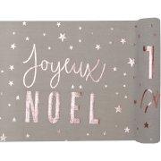 Chemin de Table Joyeux Noël Confetti (5 m) - Coton