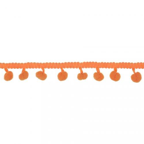 Guirlande Pompons Orange (2 m)
