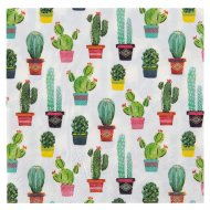 20 Serviettes Cactus Mexique Latina