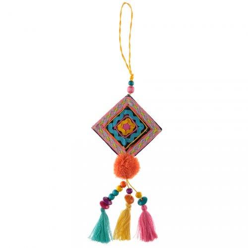 Suspension Losange Mexique Latina (28 cm)