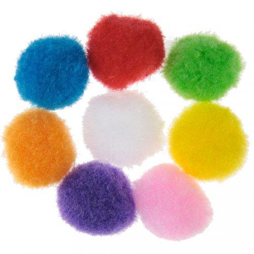 50 Mini Boules Pompons Mexique Latina (2 cm)