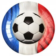 10 Assiettes Foot France