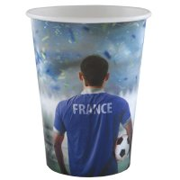 Contient : 1 x 10 Gobelets Foot France