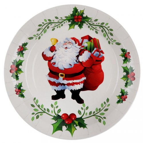10 Assiettes Joyeux Noël