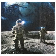 20 Serviettes Astronaute