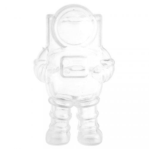 2 Boîtes Transparentes Astronaute (9 cm)