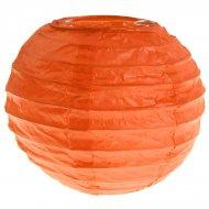 2 Mini Lanternes Papier Orange (9,5 cm)