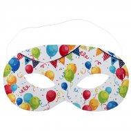 10 Masques Arlequin - Carton