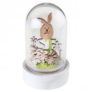 Cloche Déco Lapins de Pâques (11 cm) - Bois