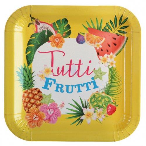 10 Assiettes Tutti Frutti Cocktail party