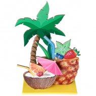 Centre de Table Tutti Frutti (23 cm) - Bois