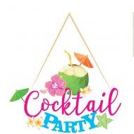 Grande Déco Cocktail Party (39 cm) - Bois