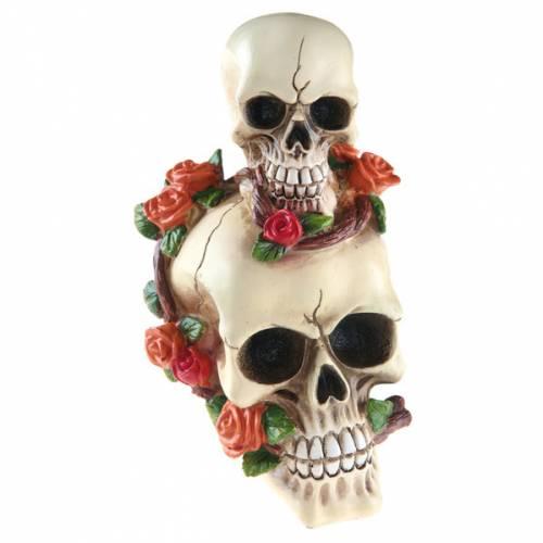 Tête de Mort Rose Multicolores
