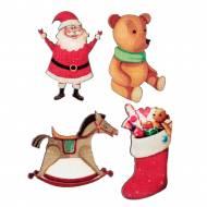 12 Confettis Père Noël