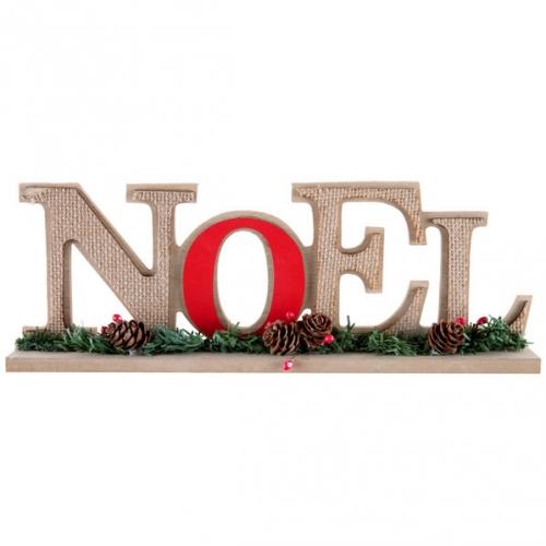 Décor Noël Traditionnel Rouge