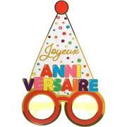 Lunette Anniversaire Ballon Multicolores